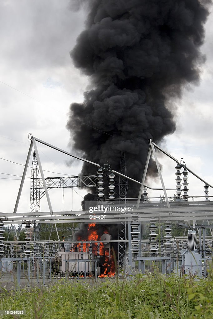 Fire at Electrical Substation