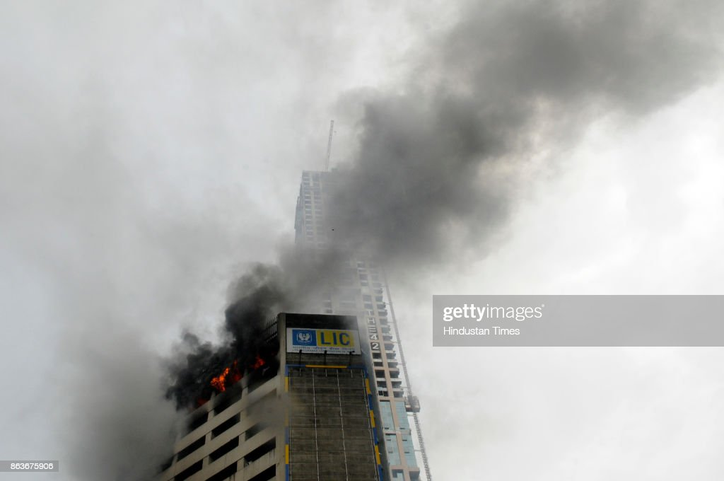 Massive Fire Breaks Out In Jiban Sudha Building In Kolkata