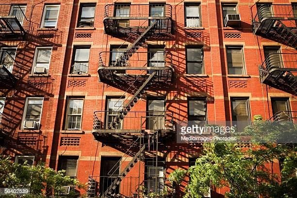 fire escape stock photos and pictures getty images