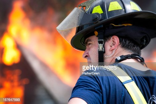 Fire Fighter Working