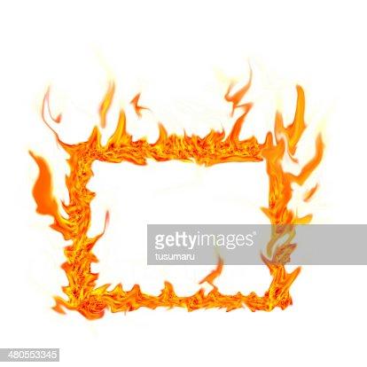 fire flame : Foto de stock