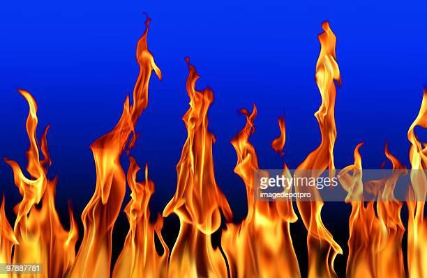 fire flames power