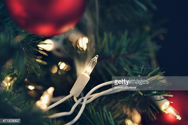 Risque d'incendie de lumière de Noël-FUMEUR