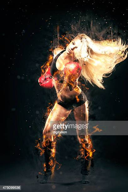 Fire Punch - Female boxer is very hot