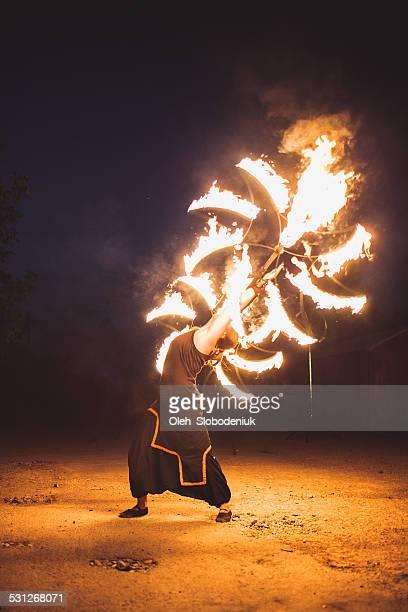 Feuer show