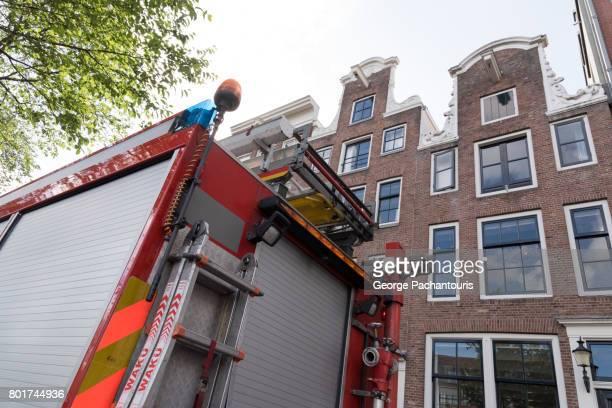 Fire truck in Amsterdam