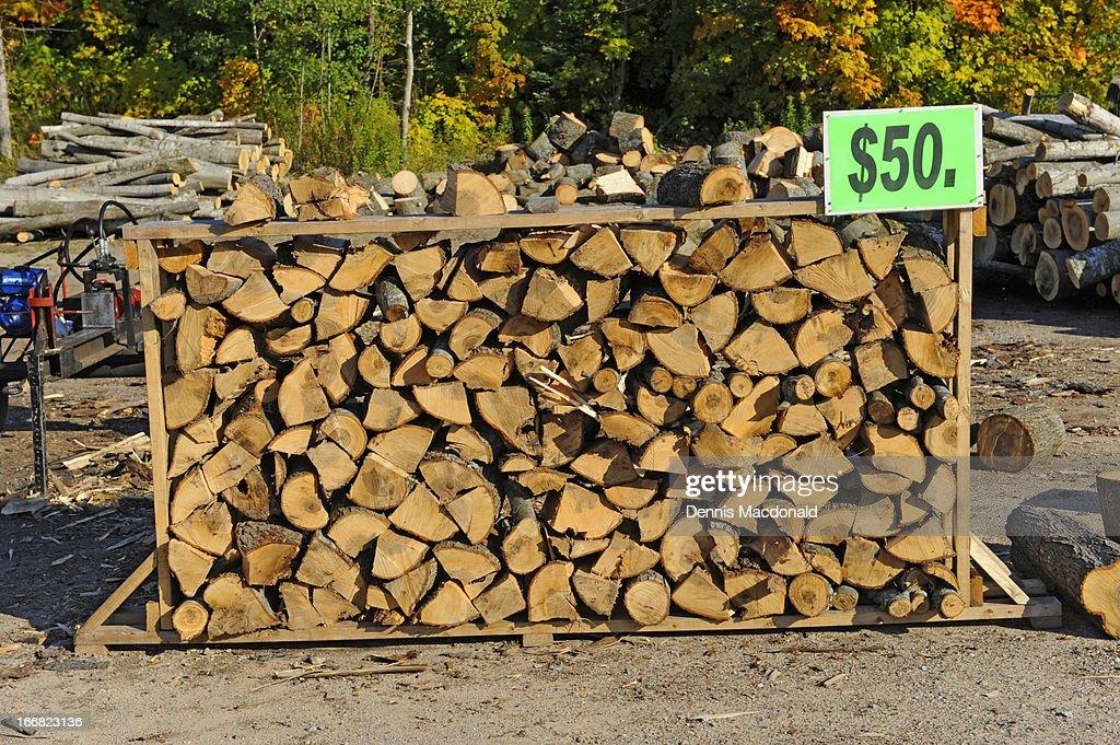 Fire wood : Stock Photo
