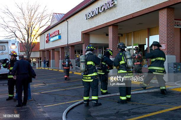 FIRE01There was a twoalarm fire that started in Aurelio's Pizza in the Happy Canyon Shopping Center on East Hampden Ave at about 815 am Thursday Nov...
