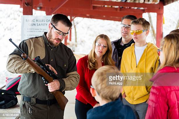 Firearms Instructor at the Shooting Range