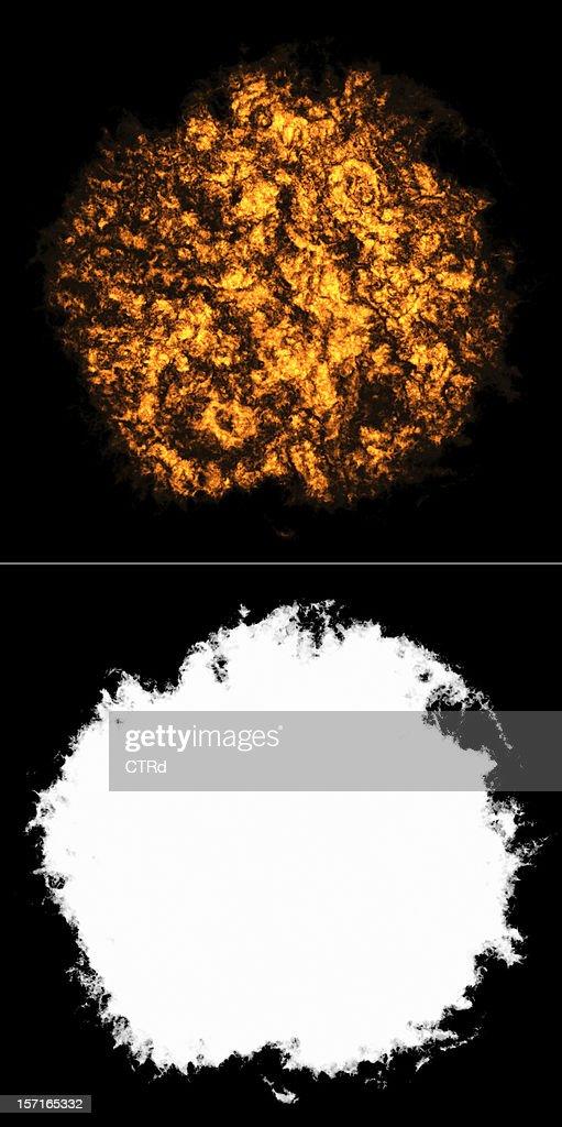 Feuerball 2 : Stock-Foto