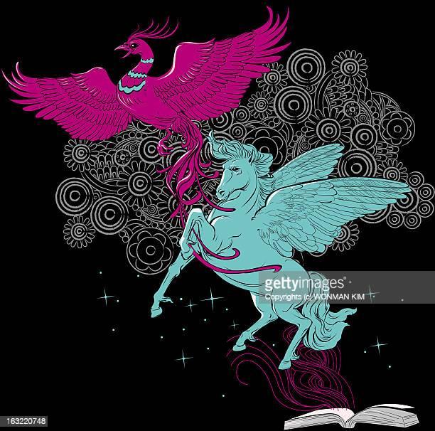 firebird and pegasus