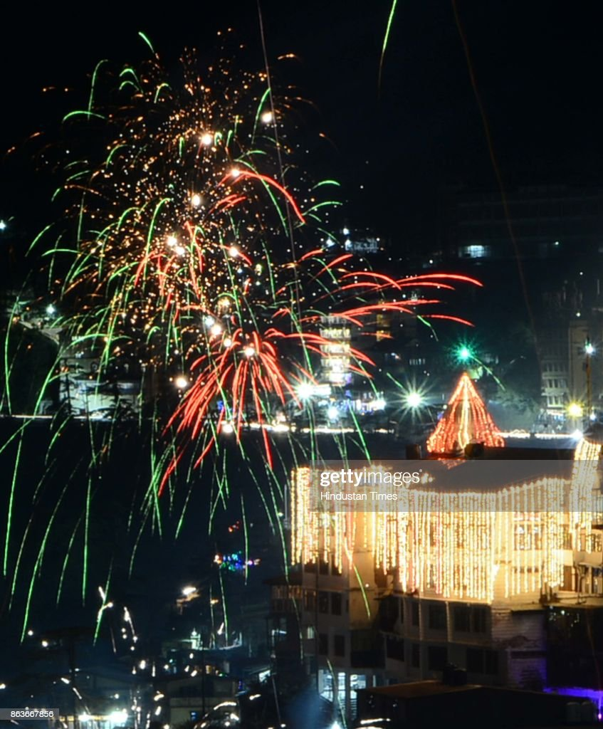 India Celebrates Diwali Festival