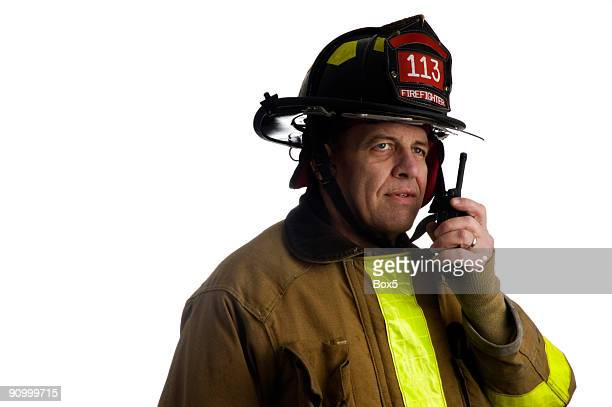Firefighter calls for back-up