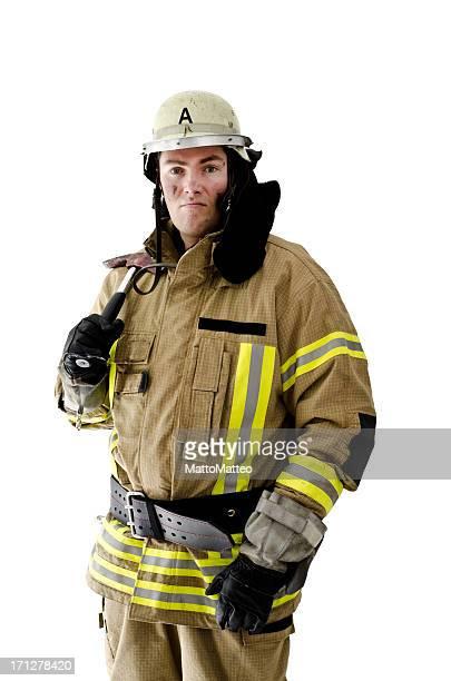 Feuerwehrmann, weltpolitisch seine Axt
