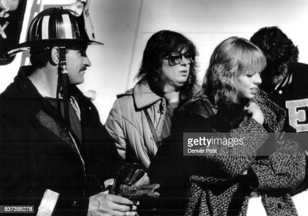 Firefighter who saved Cat Randy ***** girl with cat Monica Haskell Other lady Cheryl Haskell Boy Brad Haskell Cat name Babe Credit The Denver Post