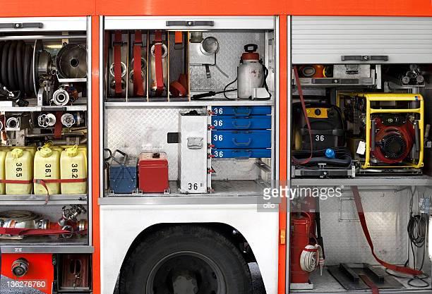Feuerwehrleute Ausstattung