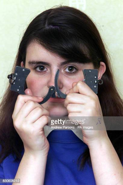 Firefighters had to free a 13 year old girl from handcuffs after a prank went wrong Leanne Bruce from Suffolk was dared to lock the handcuffs on her...