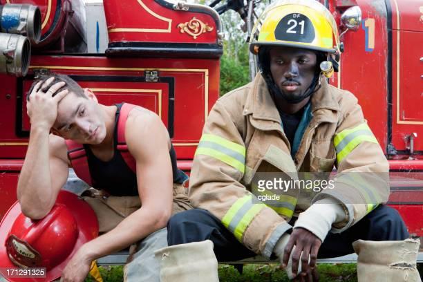Pompiers faire une pause