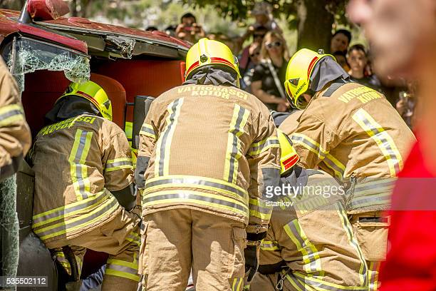 Firefighting, Search and Rescue excersise and demonstration