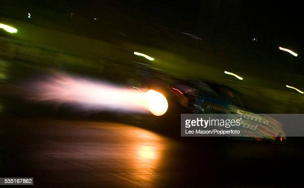 Fireforce 3 Jet Car during the 2007 Flame and Thunder drag racing night meeting at Santa Pod Raceway in Poddington Northampton UK