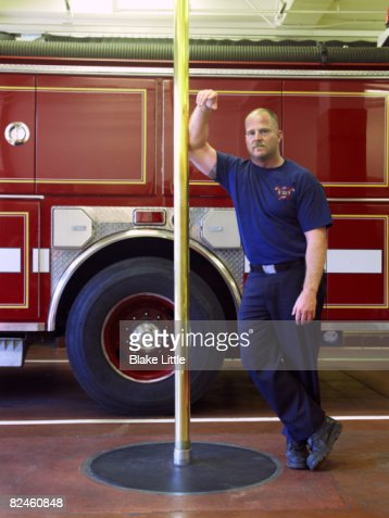 Fireman  in fire station
