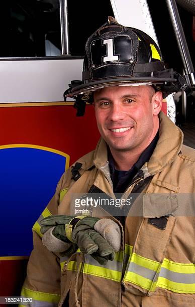 Fireman with blank logo 2