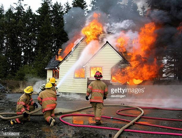 Bombeiros residência Casa de combate a incêndios