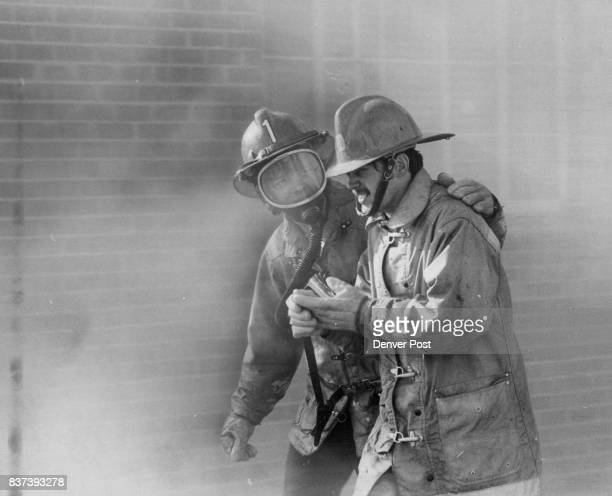 Firemen Take Break During $200000 Blaze Arvada firemen fought a twoalarm fire Tuesday at Winner Foundries and Manufacturing Co 5655 Marshall St Fire...