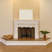 Fireplace, Living Room, Home Interior, Mantelpiece, Fire - Natural Phenomenon