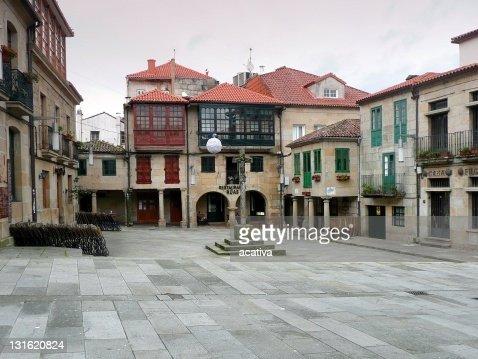 Firewood Plaza of Pontevedra