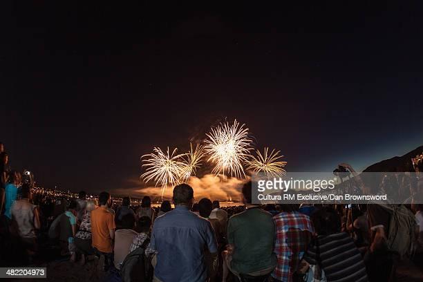 Firework display, Celebration of light, Vancouver, British Columbia,Canada