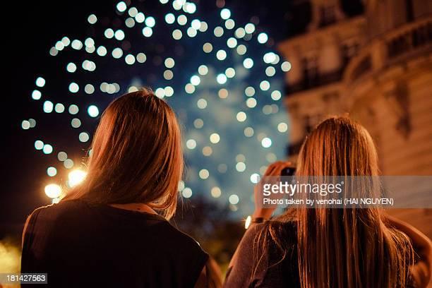 Firework in Paris