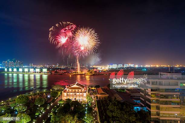 Firework to celebrate Vietnamese National Day