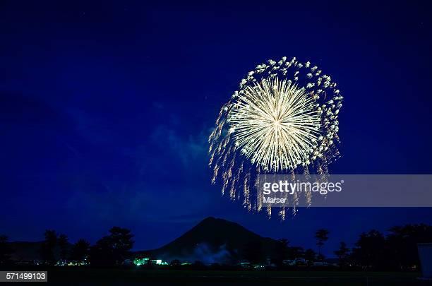 Fireworks at Yasu festival