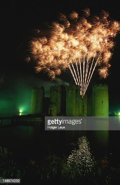 Fireworks, Bodiam Castle.
