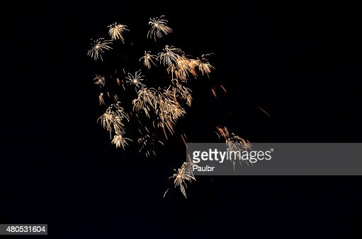 Fireworks Display : Stock Photo