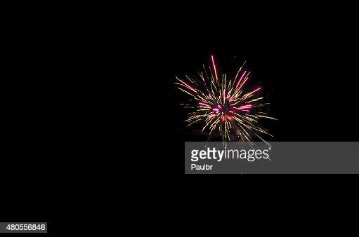 Fireworks Display : Stock Photo