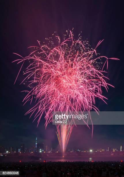 Fireworks Festival, Tokyo, Japan.