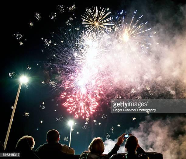 Fireworks Guy Fawkes Night Battersea Park London