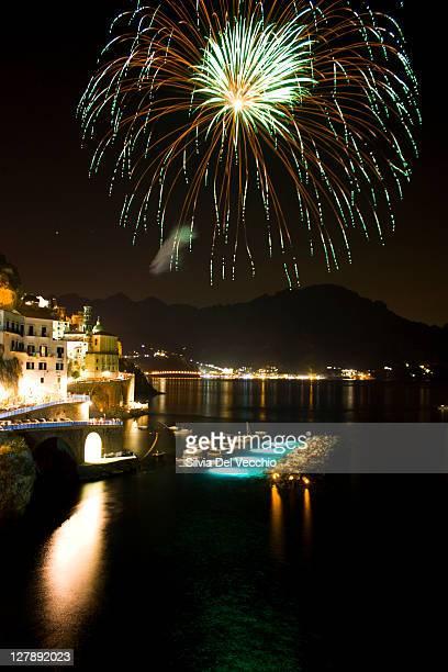 Fireworks in Atrani