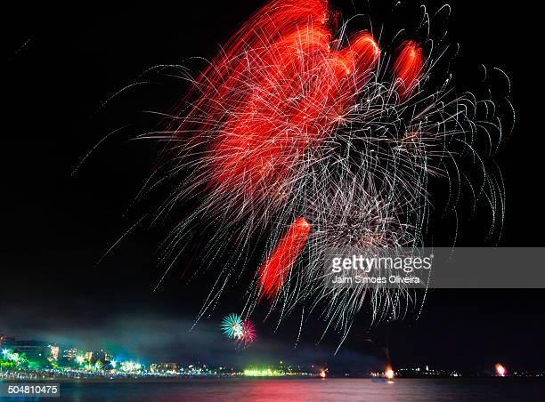Fireworks in Maceió