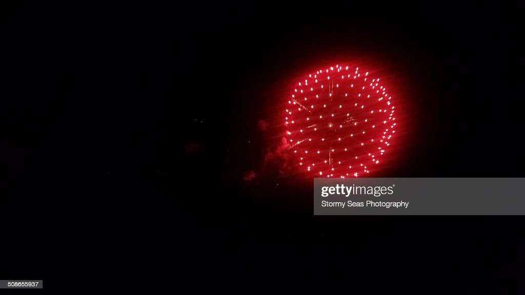 Fireworks in Maryland : Stock Photo