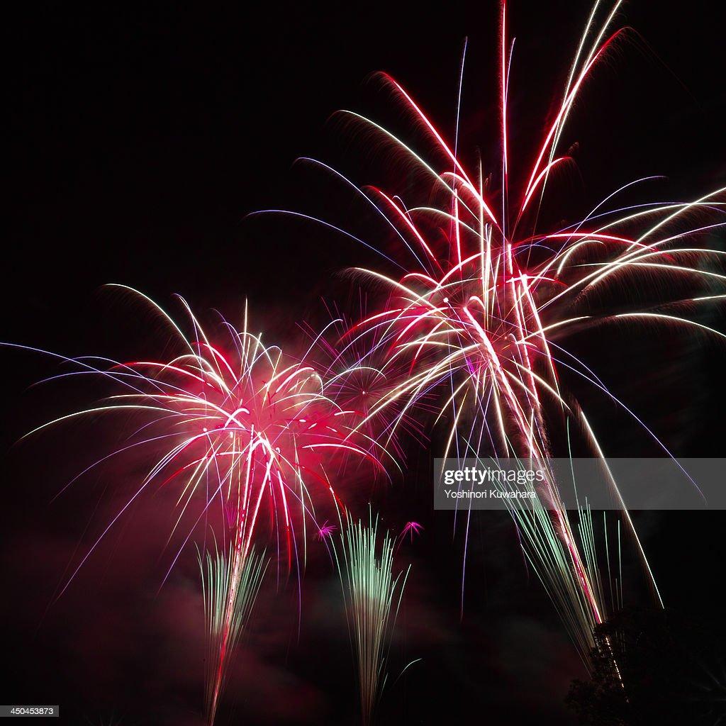 Fireworks in Morimachi
