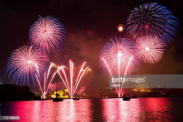 Fireworks in the Grand Harbour