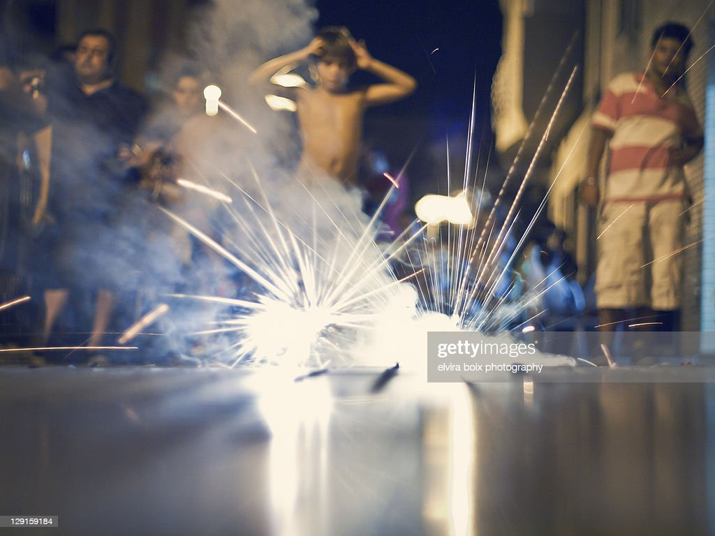 Fireworks : Stock Photo