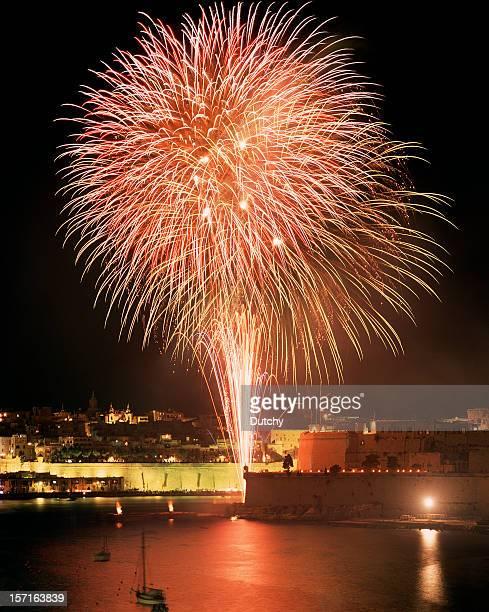 Fireworks, Valletta, Malta.