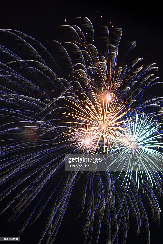 Fireworks_ConeyIs : Stock Photo