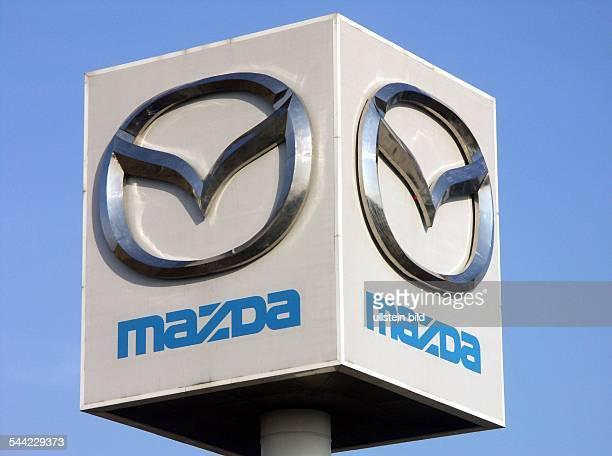 Firmenlogo des japanischen Automobilherstellers Mazda