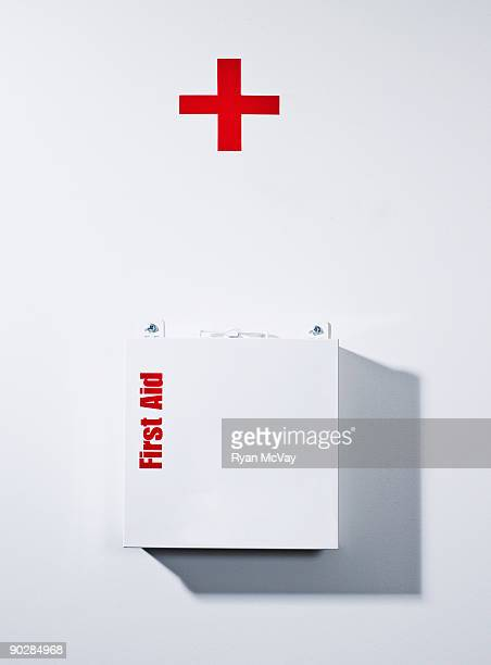 First aid kit in office