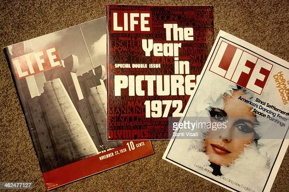 First and last issue of Life Magazine on July 6 1978 in New York New York